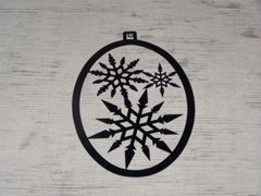 Snowflake Welcome Door Hanger