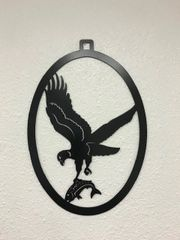 Eagle Welcome Door Hanger