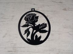 Rose Welcome Door Hanger