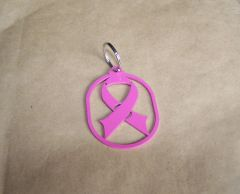 Breast Cancer Key Ring