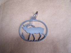 Elk Full Body Key Ring
