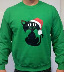 Cat - WASHABLE UGLY CHRISTMAS SWEATER