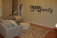 Cherish Family Wall Decal