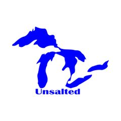 Great Lakes Unsalted Vinyl Car Decal