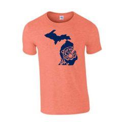 Michigan Tiger T-Shirt - Tigers Shirt - Michigan Shirt - Michigan Tigers - Michigan Pride - Support the Tigers - MADE IN THE USA!
