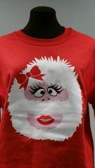 Abominable Snow-Woman - WASHABLE UGLY CHRISTMAS SWEATER
