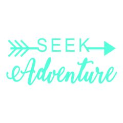 Seek Adventure Decal - Adventure Decal - Adventure Awaits Decal - Travel Michigan - Travel Decal