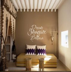Dream Imagine Believe Wall Decal