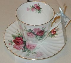 Rose Tea Cup Royal Patrician