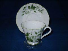 Green On the Vine cup and saucer
