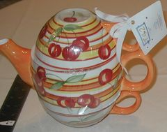 Cherry tea for two