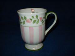 Pink Stripe Mug