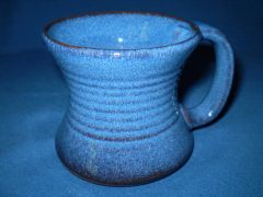 Irish Country Pottery Blue Tankard