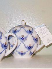Evening Time Teapot