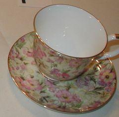 Rose Tea Cup Crown Victoria