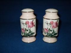 Pink Rose Salt and Pepper from Goebel