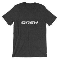 DASH, TEZOS & ZCASH T-SHIRTS ( CRYPTO REWARDS ON EVERY PURCHASE)