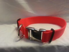 1.5 Adjustable Dog Collar Metal Buckle