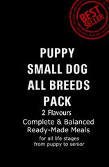 """Puppy & Small Dog Pack"" 2 Flavours 12 x 500g Packs"