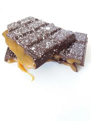 Salted Caramel Dark Chocolate Bar - 100g