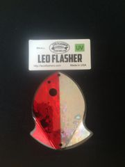 Small Leo Flasher Red Frost / Silver Frost