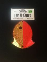 Small Leo Flasher Crushed Pearl on Pink