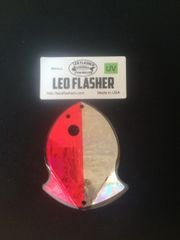 Small Leo Flasher Pink Frost / Silver Frost