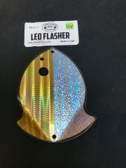Medium Leo Flasher 50/50 Gold SS Crush on Clear