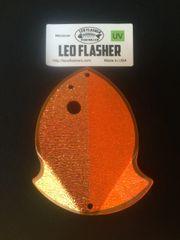 Medium Leo Flasher Crushed Pearl on Orange