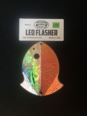 Small Leo Flasher Silver Frost / Crushed Pearl