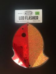 Medium Leo Flasher Red Frost / Crushed Pearl