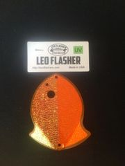 Small Leo Flasher Orange / Crushed Pearl