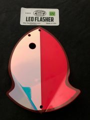 Large Leo Flasher Pink Moon Jelly