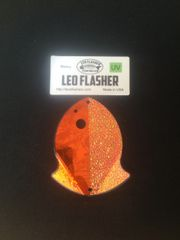Small Leo Flasher Orange Frost / Crushed Pearl