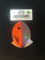 Small Leo Flasher Orange Frost / Black Frost