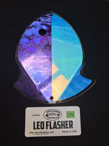 Medium Leo Flasher Purple Moon Jelly