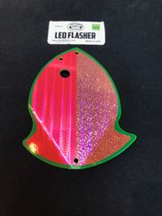 Large Leo Flasher Pink SS Pink Crush on Chart