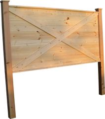 Texas Barn Door Headboard