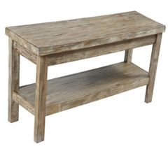 Distressed Sofa Table - Stained and Faux distressed