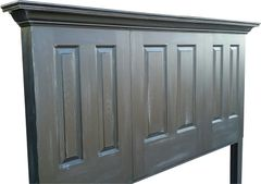 3 Door Six Panel Headboard With Legs