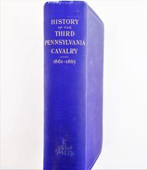 History of the Third Pennsylvania Cavalry 1861-1865