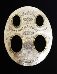 Engraved Silver Matting