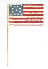 Gettysburg Reunion Parade Flag