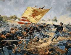 Forlorn Hope 1st Maine Heavy Artillery Don Troiani