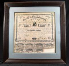 Confederate War Bond / SOLD