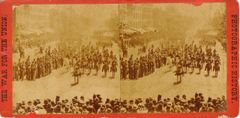 Stereoview of the Grand Review