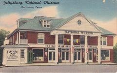 Gettysburg Souvenir Postcard National Museum