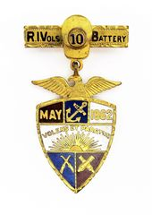 10th Rhode Island Veterans Association Medal