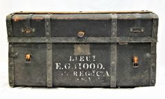 Trunk Identified to Lieutenant E. G. Hood, 35th Mass, WIA Antietam, MD
