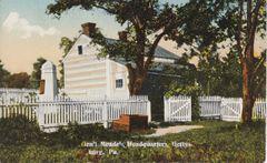 Gettysburg Souvenir Postcard General Meade's Headquarters